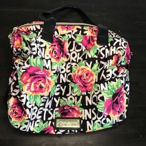 Betsey Johnson floral shoulder purse